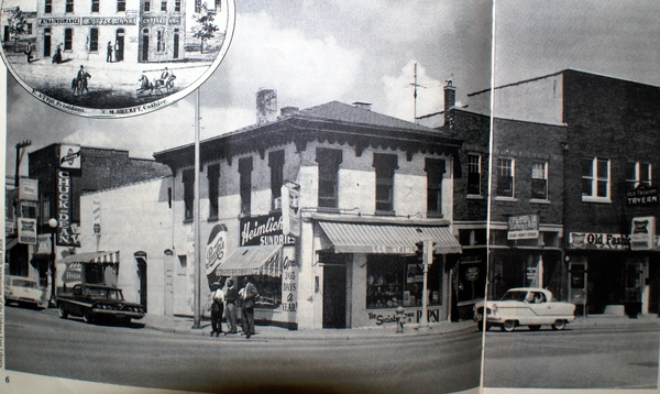 First and University, ca. 1970