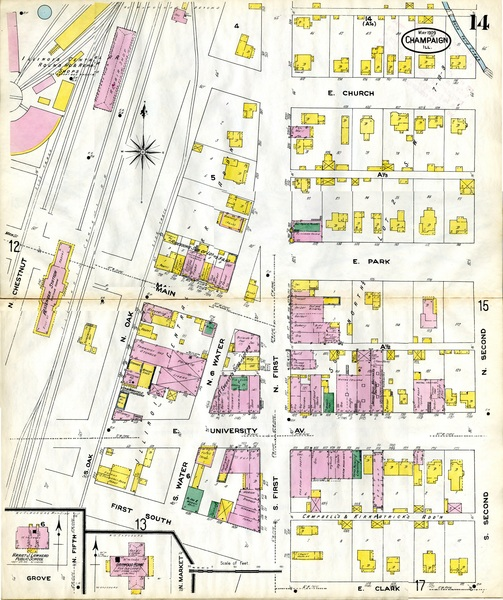 North First Street Sanborn Map